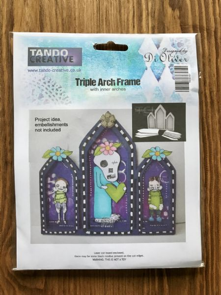Tando Chipboard - Triple Arch - Layered Frame